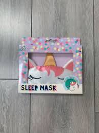 <b>NPW</b> SLEEPY <b>UNICORN SLEEP</b> MASK NEW SEALED | eBay