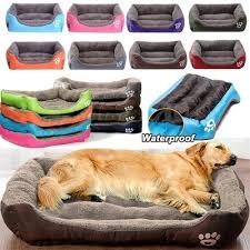 (<b>S</b>-<b>3XL</b>) <b>Large Pet</b> Cat <b>Dog</b> Bed 8Colours – mazzaam