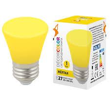 Декоративная светодиодная <b>лампа Volpe LED</b>-<b>D45</b>-<b>1W</b>/<b>YELLOW</b> ...