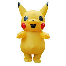 HAMISS for Inflatable Pikachu Costume Cosplay ... - Amazon.com