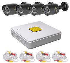 <b>FOX</b> FX-KIT4.4 <b>комплект видеонаблюдения</b> на 4 камеры 2 MPix ...