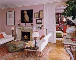 country living room ci allure: elegant pink living room  elegant pink living room