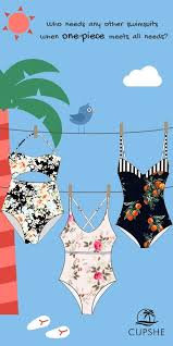 Who needs any other swimsuits when <b>one</b>-<b>piece meets</b> all needs ...