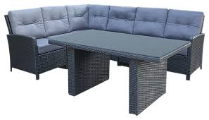 patio furniture sectional ideas: home depot patio furniture sectional dining set  in home decorating ideas with sectional dining set