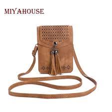 Miyahouse <b>Handbags</b> Women Summer New Tassel Messenger ...