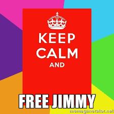 FREE JIMMY - Keep calm and | Meme Generator via Relatably.com
