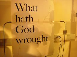 "「""What hath God wrought!""」の画像検索結果"