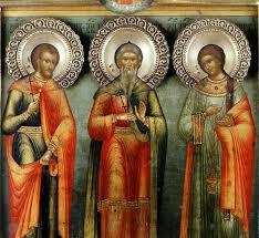 Почему святые <b>мученики Гурий</b>, <b>Самон</b> и Авив почитаются как ...