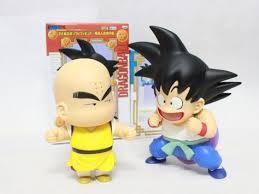 <b>2 pcs</b>/<b>Lot</b> Japan <b>Anime Dragon</b> Ball Z 21cm Height Goku Kuririn ...