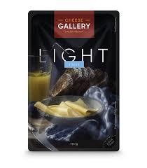 Купить <b>Сыр CHEESE GALLERY Light</b> нарезка 20%, 150г БЗМЖ в ...