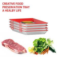 <b>Clever Tray Creative</b> Food Plastic Preservation <b>Tray</b> Kitchen Tools ...