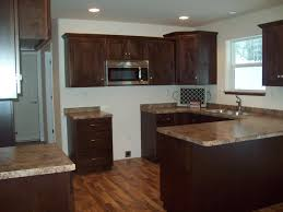 Walnut Floor Kitchen Formica Butterum Granite Countertops Custom Maple Cabinets From B