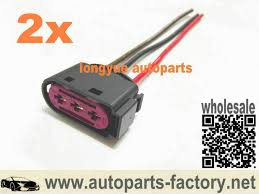 online buy whole vw oem connector pins from vw oem longyue 2pcs 3 way pin oem fuse box connector plug 1j0 937 773 for vw