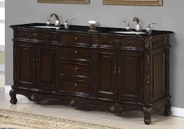 bathroom layout ideas rustic wooden vanity: black and white bathrooms with solid wood bath vanity