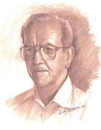 Dibujo de Vicente Armiñana para el libro Homenaje al Profesor Juan Barceló Jiménez (1990) - image002