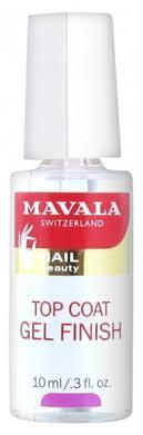 <b>Mavala</b> Gel Finish <b>Top Coat</b> 10ml