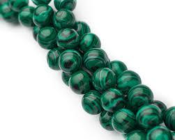 Бусина <b>Малахит</b>, <b>8 мм</b>, Круглая, Зеленая, купить <b>Бусины</b> для ...