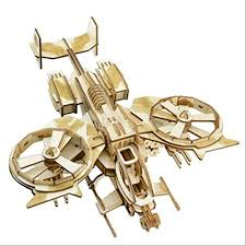 Laser Cut Wooden 3D Puzzle <b>Poison</b> Scorpion <b>Fighter Model</b> Stereo ...