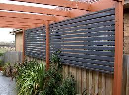 outdoor patio privacy fence