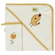 <b>Kidboo Комплект полотенце</b>-уголок+варежка Цыпленок - купить ...