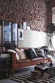 bedroom wall lighting exposed brick windowless