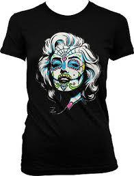 Мэрилин Monroe день <b>Dead</b> Los Muertos лицо тату девочки ...