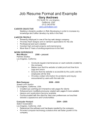 resume templates examples standard format sample 81 marvelous work resume format templates