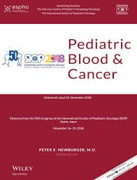 SIOP ABSTRACTS - 2018 - <b>Pediatric</b> Blood &amp; Cancer