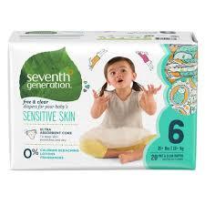 Seventh Generation <b>Free & Clear Diapers</b> | Walmart Canada