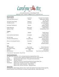 carolyne rexcarolyne    s resume and headshot