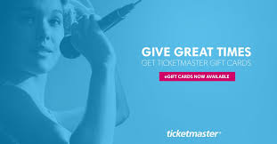 Ticketmaster Gift Cards | Give Live Entertainment!