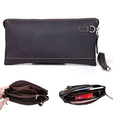 Men's <b>Leather</b> Handbags Or Clutches
