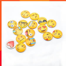 Funny Cute 10P Magnetic File Refrigerator <b>Fridge Magnets</b> Round ...