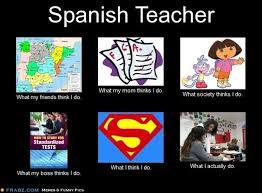 Spanish Teacher... - Meme Generator What i do | Spanish Teacher ... via Relatably.com