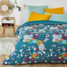 Одеяло с принтом, miss china рисунок сине-зеленый <b>La Redoute</b> ...