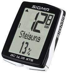 <b>Велокомпьютер SIGMA BC</b> 14.16 STS CAD — купить по выгодной ...