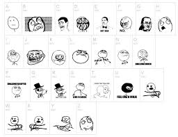 Meme Cartoon Faces | Dingbat by Fontsi.com via Relatably.com