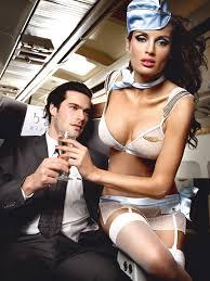 <b>Игровой костюм</b> «<b>Улетная</b> стюардесса», цвет голубой: топ, мини ...