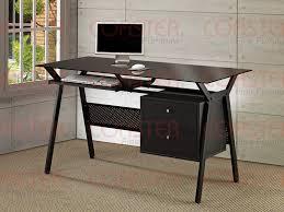black computer desk coaster 800436 black computer desks