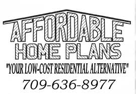 affordable house plans in Pasadena  Newfoundland   Estates in CanadaAffordable home plans  sq ft  elevations  floor plans  foundation