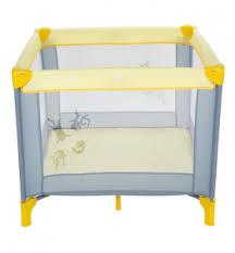 <b>Манеж Capella Sweet</b> Time B/S cosmocats grey/yellow