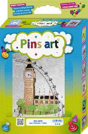 Kit Pins <b>Art</b> - <b>Big Ben</b> - <b>DIY</b> - Hand Made with Love   Mundo