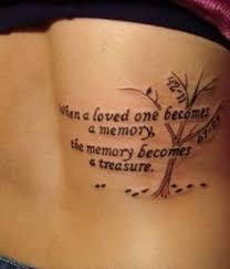 Memorial Tattoo Quotes on Pinterest   Unique Tattoos Quotes, Mom ... via Relatably.com