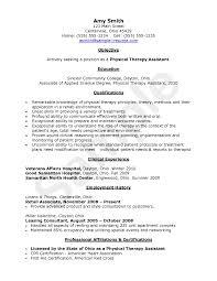 cover letter sample pta resume sample physical therapy resume new cover letter physical therapy assistant resume sample eager world professional resumes physical xsample pta resume extra
