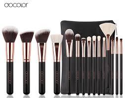 Купить Docolor 15 шт. кистей для макияжа, набор ... - projectorstandz