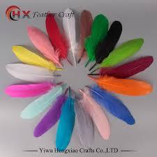 Good quality feather <b>50pcs</b>/<b>lot Natural</b> White goose feathers <b>15</b> ...