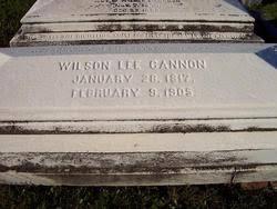 <b>Wilson</b> Lee <b>Cannon</b> (1817-1905) - Find A Grave Memorial