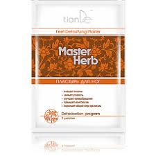 <b>Пластырь для ног</b> детоксикационный Master Herb: Фасоль адзуки ...