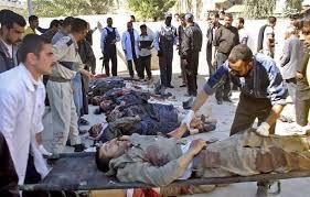Image result for حمله انتحاری داعش به مراسم افطاری در مسجد اهل سنت بغداد