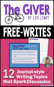 best ideas about the giver lois lowry book get your students thinking writing and discussing short topics for the giver